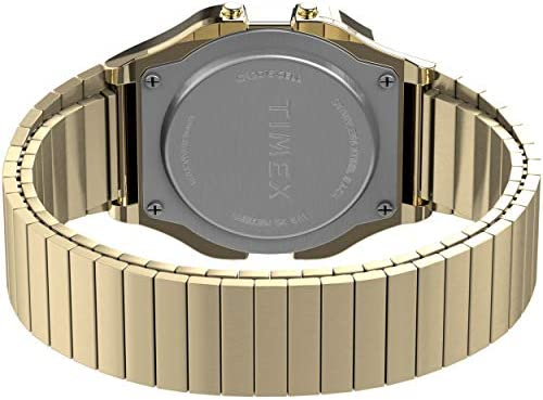 Timex 34 mm T80 Gold/Gold/Gold One Size