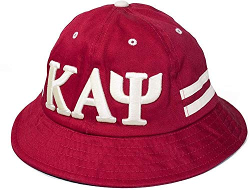 Kappa Alpha Psi Bucket Hat Cap Red ()