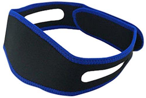 PU Health Pure Acoustics 3 Piece Stretchy Adjustable Neoprene Anti Snoring Strap Sleeping Massager