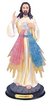 StealStreet SS-G-312.64 Divine Mercy Jesus Holy Figurine Religious Decoration Decor, 12