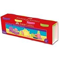 Faber-Castell 5170120045 Silindir Oyun Hamurları, 4 Renk