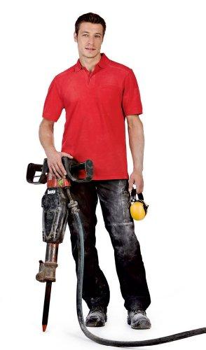 Arbeits-Poloshirt 'Skill Pro' mit Brusttasche, Farbe:White;Größe:S S,White