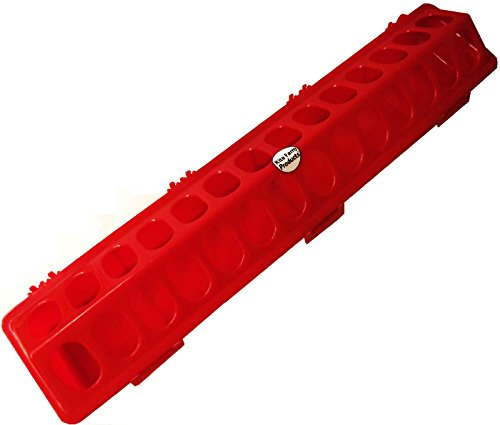 20-RED-RITE-RARM-PRODUCTS-POLY-FLIP-TOP-CHICKEN-FEEDER-28-HOLE-FOR-POULTRY-CHICK