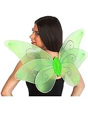 Atosa 9283 kostuum accessoires, dames, groen, één maat