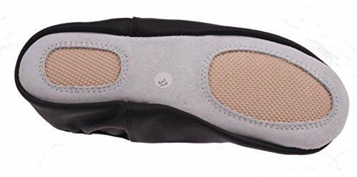 Noir Chaussures 37 Olympia En Cuir Anniel Taille Turn 8fxqCqw4