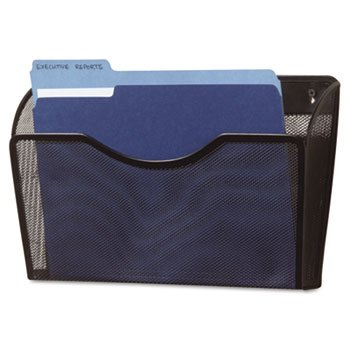 Eldon Staples - Rolodex™ Single Pocket Wire Mesh Wall File FILE,MESH WALL,BK (Pack of5)