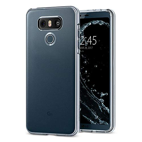 Spigen Liquid Crystal LG G6 Case/LG G6 Plus Case with Slim Protection and Premium Clarity for LG G6 / G6 Plus (2017) - Crystal Clear