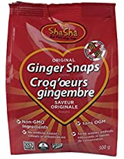 Shasha Co Original Ginger Snap Cookie Bags, 300 grams
