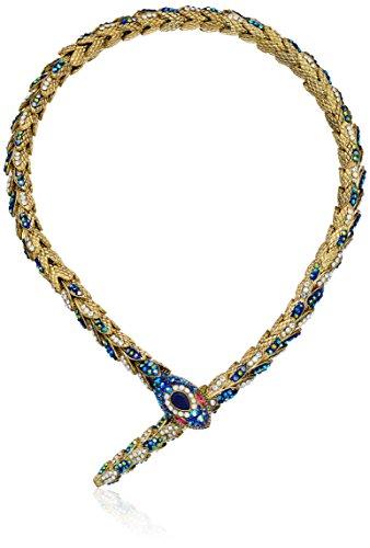 Pave Snake Necklace - 5