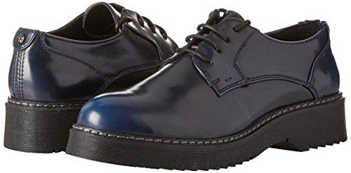 Para blu 100603905ab Cordones Derby Azul Primadonna Zapatos De Mujer 6C4WFq