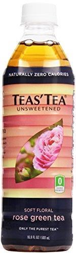 Tea's Tea Unsweetened Rose Green Tea, 16.9 oz