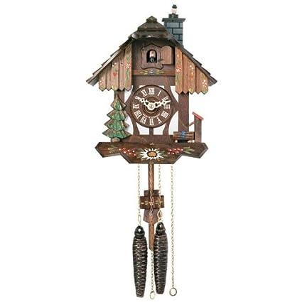 Reloj de cuco con chimenea obtendrás de chimenea