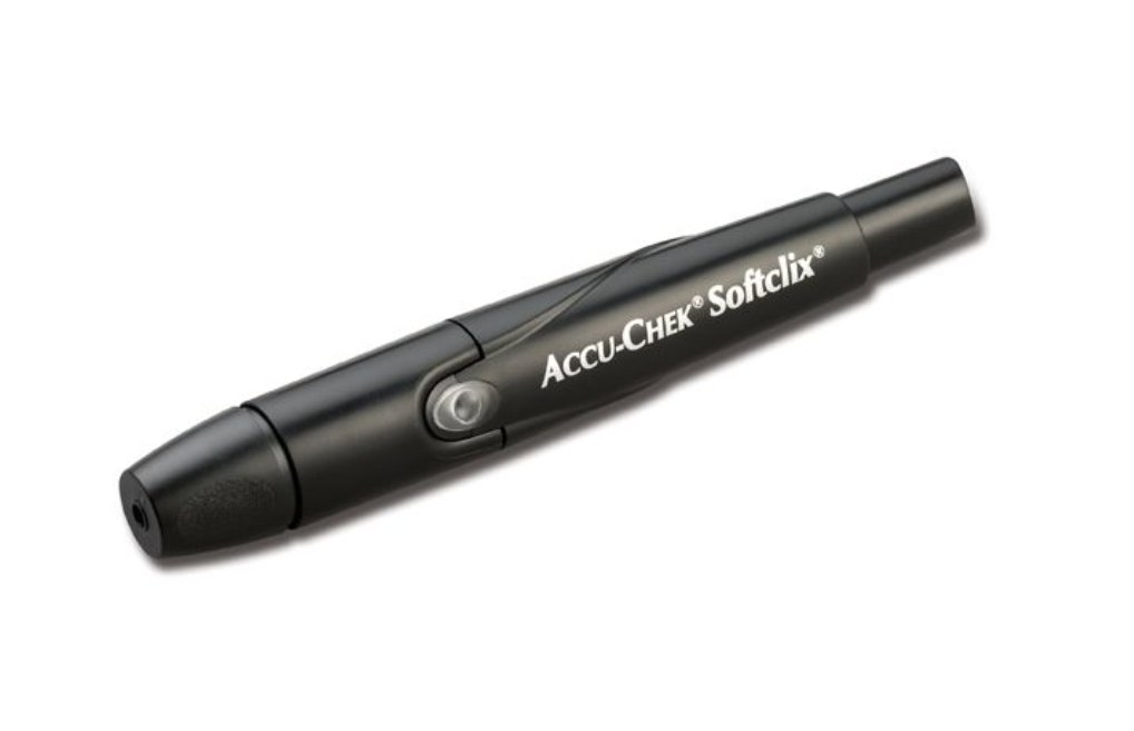 Accu-Chek SoftClix Lancing Device includes 10 Lancets