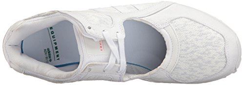 Adidas Originali Da Donna Eqt Racing 91 Fashion Sneaker Bianco / Bianco / Turbo Tessuto