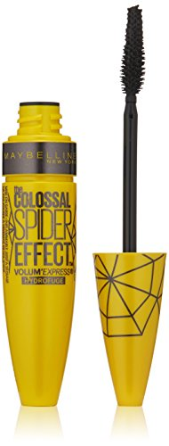 Maybelline New York Volume Express The Colossal Spider Effect Waterproof Mascara, Classic Black, 0.32 Fluid Ounce