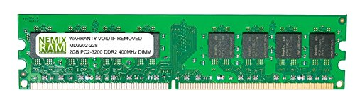 2GB DDR2 400MHz PC2-3200 240-pin Memory RAM DIMM for Desktop PC