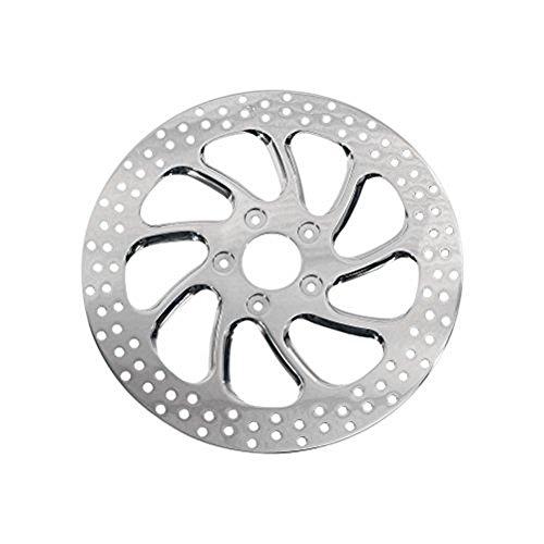 Performance Machine Torque 11.8in. Two-Piece Brake Rotor - Chrome 01331800TORRSCH ()