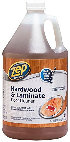 Zep Commercial ZUHLF128 Hardwood & Laminate Floor Cleaner - (Hardwood Moulding)