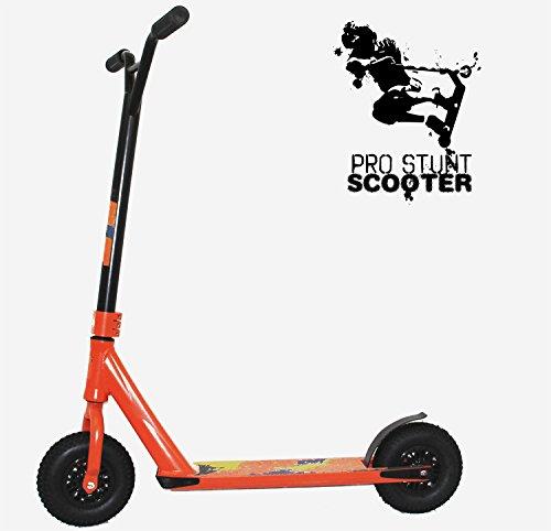 Xspec Aluminum Pro Stunt Dirt Kick Scooter Offroad Tires All