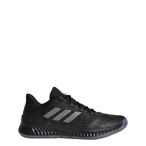 Image of the adidas Men's 2018 Harden B/E 2 Basketball Shoes, Black/Dark Grey/Grey Four (8, Black/Dark Grey/Grey Four)