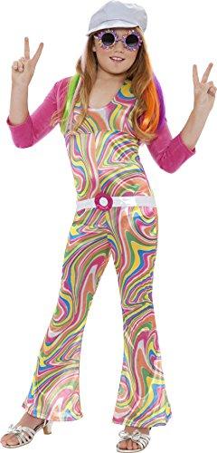 [Groovy Glam Hippie Kids Costume by Smiffy's] (Hippie Costumes Kids)