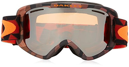 Oakley OO7066-07 O2 XM Eyewear, Cell Blocked Copper Orange, Black Iridium Lens