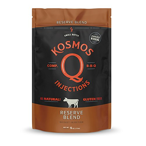 Kosmos Q Reserve Blend Barbecue Brisket Injection | Seasoning & Marinade | Just Add Water or Broth
