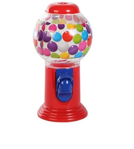 Bubble Gum Machine Coin-less for Gumballs, Cheese Balls, Mal