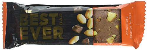 Peanut Butter Crunch Flavor - Best Bar Ever Protein Food Bar - Peanut Butter Crunch Flavor. Real Food, Real Delicious. Nothing Artificial, Non-GMO. Box of 12 (65 grams each)
