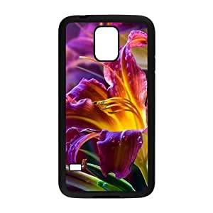 Happy Violet Flowers Cell Phone Case for Samsung Galaxy S5