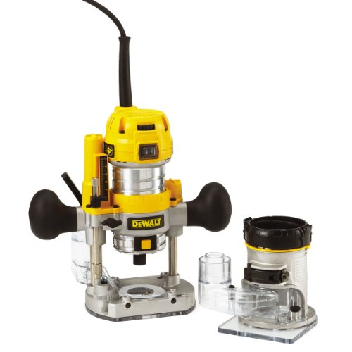 Dewalt 230V 1/4-inch Combination Plunge/ Fixed Base Router