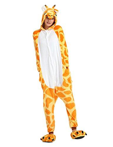Unisex Pigiama Tuta Animale Halloween Costume Adulto LATH Giraffe PIN Cosplay ZPK5wxWFBq
