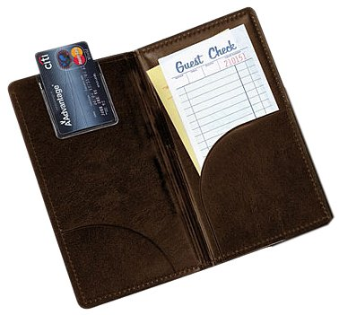 Tablecraft (59BR) Stamped Check Holder