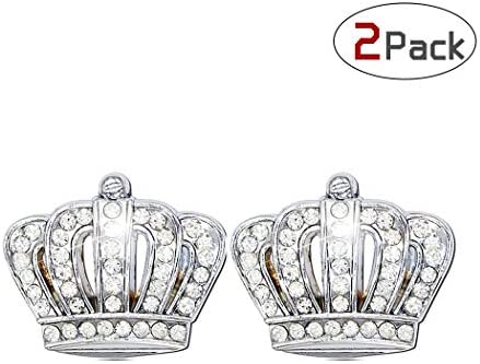 Car Auto Chrome Crown Emblems Badges Stickers Decor Bling Crown 1 PCS