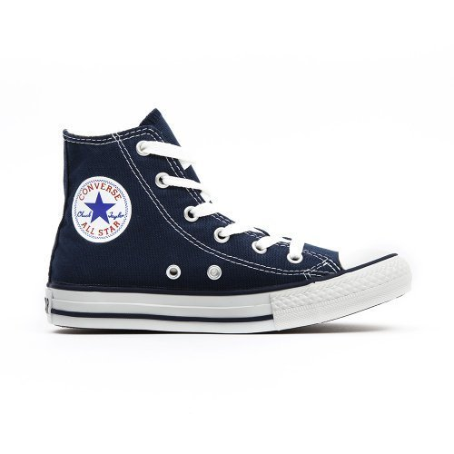 Converse All Star Hi Infant Shoes - Navy - UK 4 -