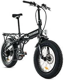 Tucano Bikes Monster HB Bicicleta Eléctrica Plegable, Gris (Antracita), Talla Única: Amazon.es: Deportes y aire libre