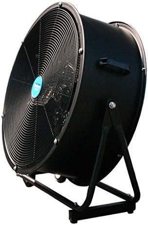 Ventiladores Industriales Ventilador de Piso de Gimnasio Oscilación de Metal de enfriamiento/Ventilador Industrial de Alta Potencia Ventilador de Pedestal silencioso/Grande, 3 velocidades y Cabezal: Amazon.es: Hogar