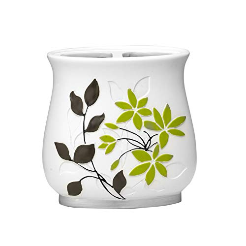 Popular Bath Toothbrush Holder, Mayan Collection, Lime/Grey from Popular Bath