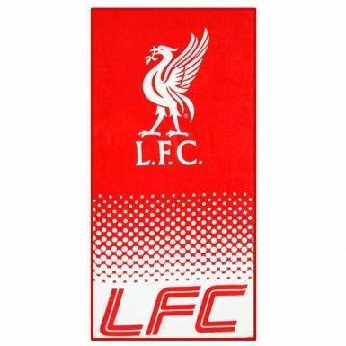 Official Liverpool FC Crest Bath Towel (70cm x 140cm)