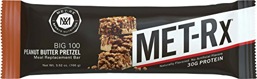 MET-Rx® Big 100 Colossal Peanut Butter Pretzel, 100 gram, 9 count