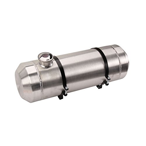 Spun Aluminum Fuel Tank, 5 Gallon, 8 x 24 Inch (5 Gallon Aluminum Tank)