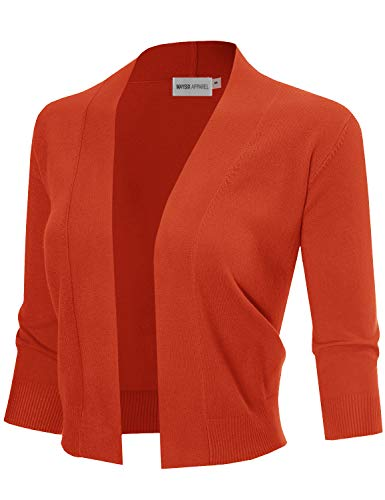 MAYSIX APPAREL SWEATER レディース US サイズ: S カラー: オレンジ