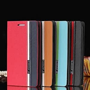 LHY Assorted Colors PU Leather Full Body Case with Stand and Card Slot for Samsung Galaxy S3 I9300(Assorted Colors) , Black