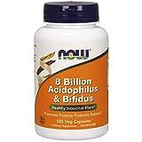 NOW Foods – 8 Billion Acidophilus & Bifidus 120 vcap
