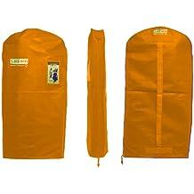 The Green Garmento Reusable Dry Cleaning Bag, 48-Inch, Orange Sunshine