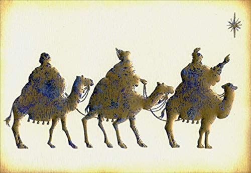 (Heritage Wise Men Signature Religious Christmas Card)
