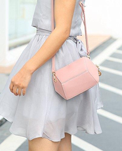 elegante de Rosa de MinottaUKD6047 Mujer mano Sintético Minotta bolso qaAIwSX