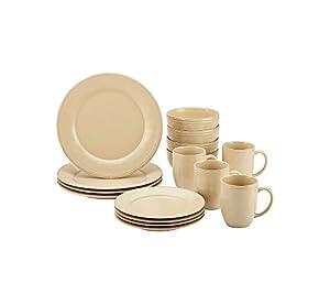 Rachael Ray Cucina Almond Cream 16-pc. Dinnerware Set