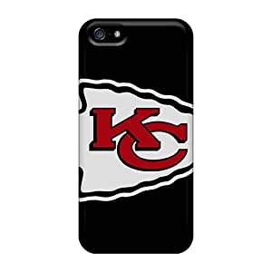 CassidyMunro Iphone 5/5s Best Hard Phone Case Allow Personal Design Stylish Kansas City Chiefs Pictures [SLc13629vDzH]