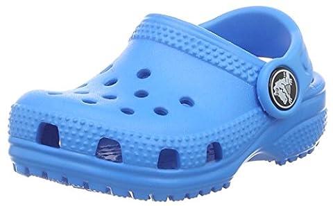 Crocs Kids' Classic K Clog,Ocean,12 M US Little Kid - Blue Croc